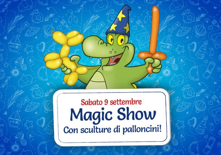 magic show Parco Giochi per bambini